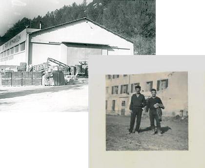 60s : Photo de l'usine